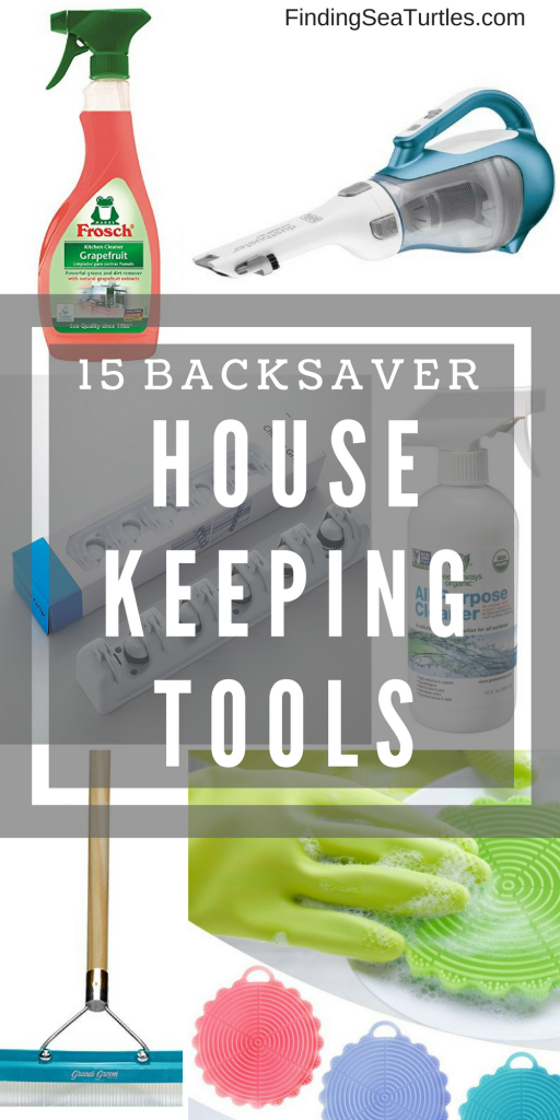15 Back-Saving Products that Help You Keep Your House Clean! #cleaningsupplies #cleaninghacks #housekeeping #organize