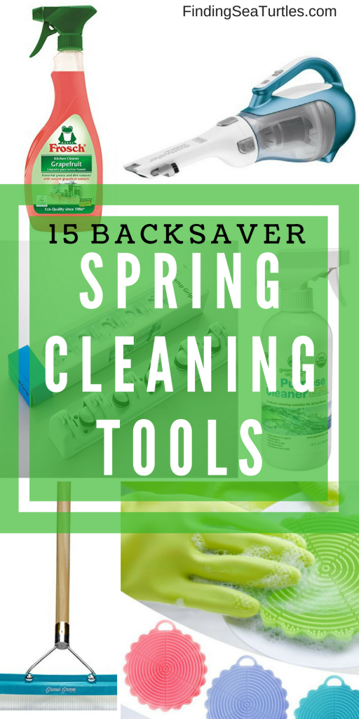 15 Spring Cleaning Tools That'll Save Your Back! #HouseCleaning #SpringCleaning