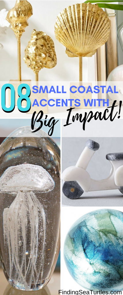 8 Small Coastal Decor Accents With Big Impact!