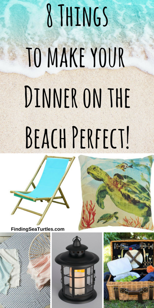 8 Things You Need For A Perfect Dinner on the Beach