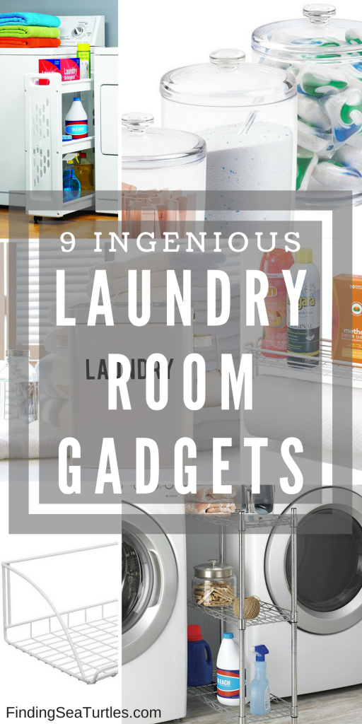 9 Ingenious Gadgets to Keep Your Laundry Supplies Organized and Handy #organize #LaundrySupplies #LaundryGadgets