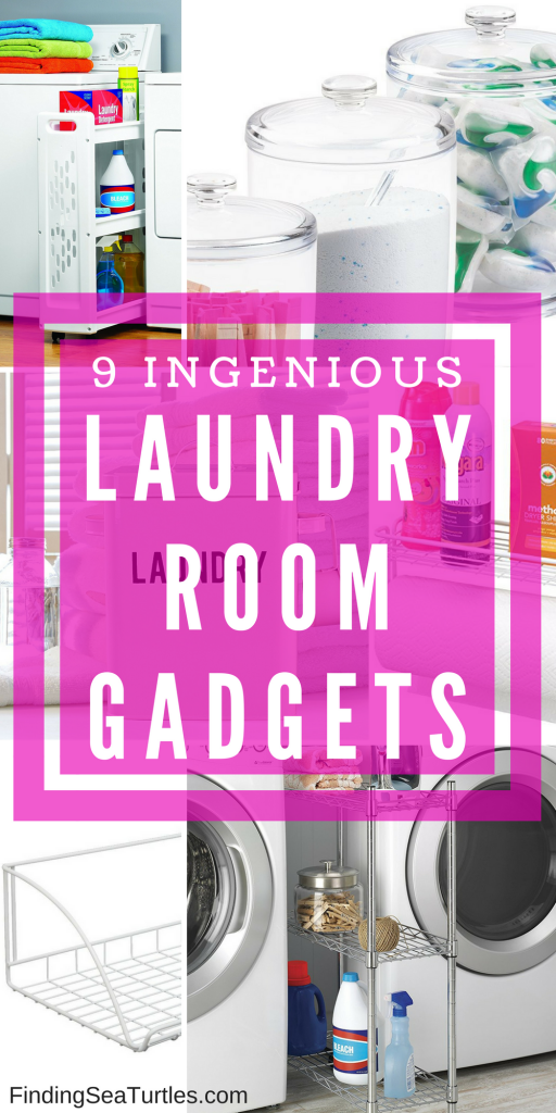 9 Ingenious Gadgets To Keep Your Laundry Supplies Organized and Handy