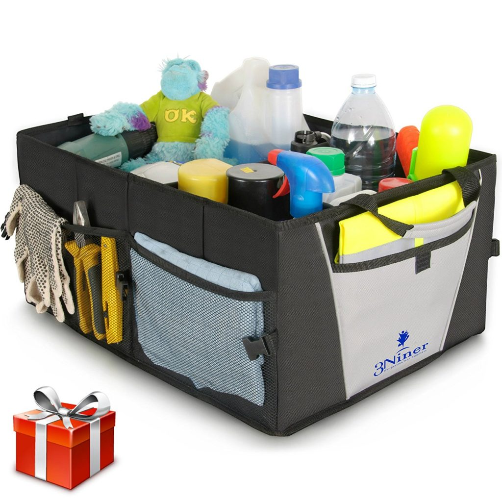 12 Products that Will Clean Your Car Faster Than Ever! #carcleaningtote #cleancartote #cleaningstorage #3ninertote