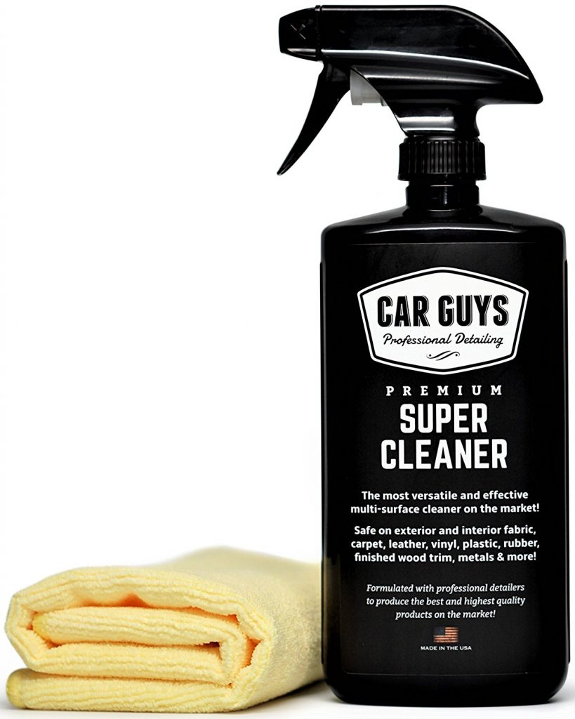 12 Products that Will Clean Your Car Faster Than Ever! #cleancar #carcleaning #CarGuysClean #CleanCarFast