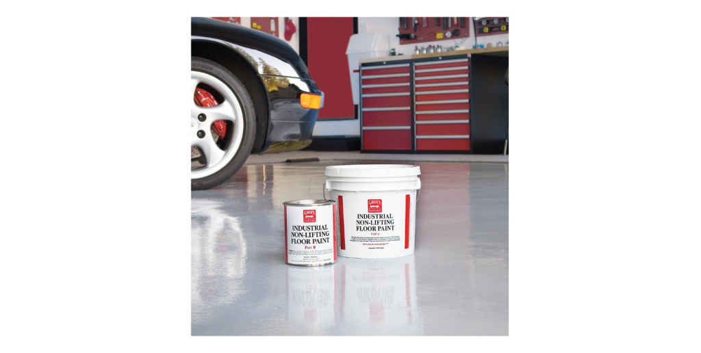 25 Organization Hacks for Your Garage Workshop - Gray Floor Paint 1 Gallon #garage #workshop #tools #organize #hacks
