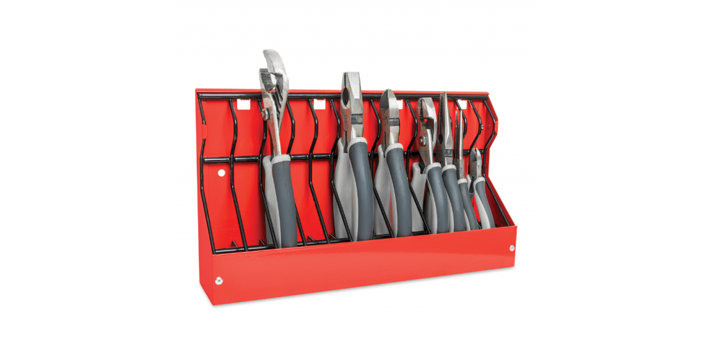 25 Organization Hacks for Your Garage Workshop - Pliers Rack #garage #workshop #tools #organize #hacks