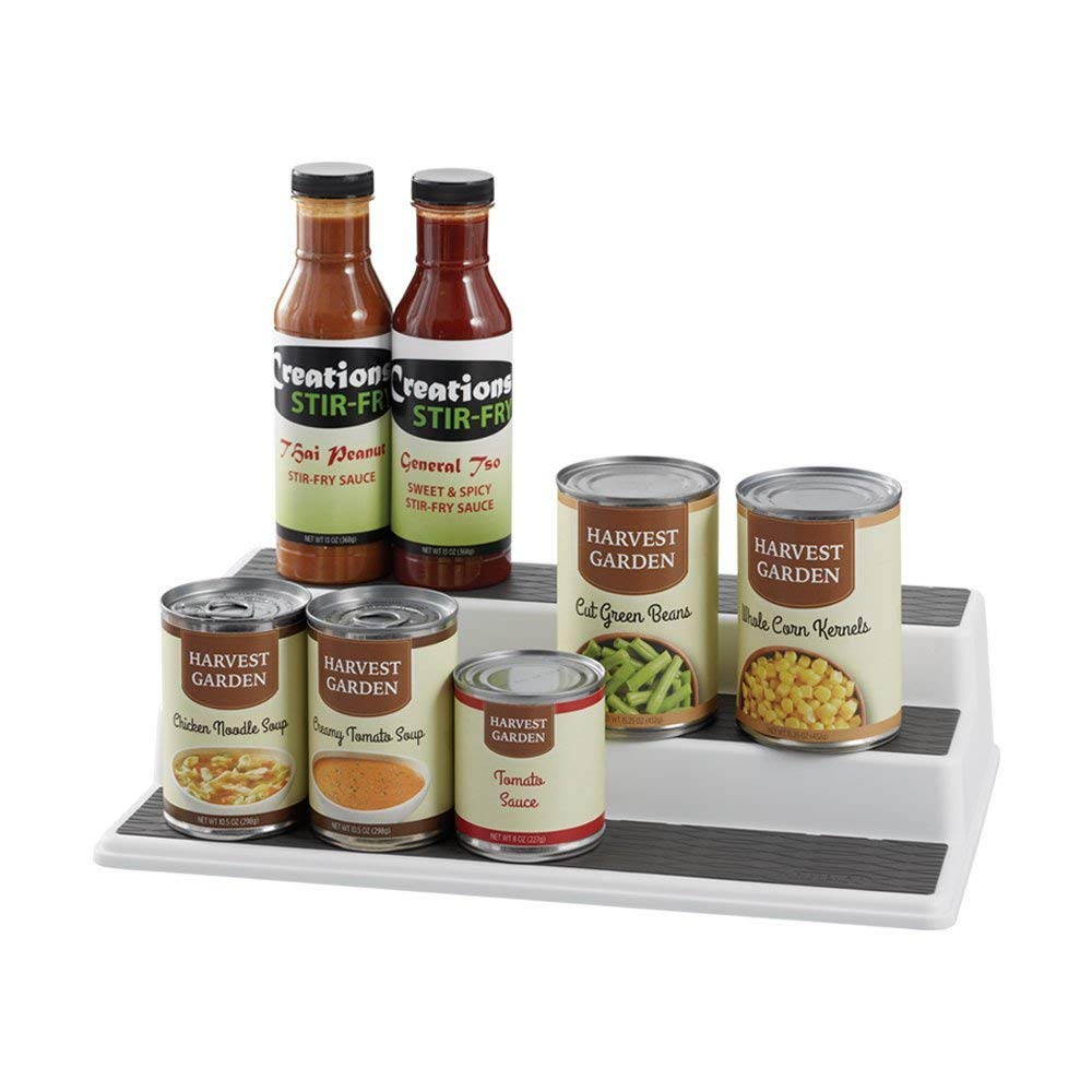 11 Things to Help You Maximize Your Kitchen Cabinet Storage Copco Spice Pantry Organizer #Organize #Organization #OrganizedKitchen #Kitchen #KitchenCabinets #KitchenStorage #CabinetStorage #Storage