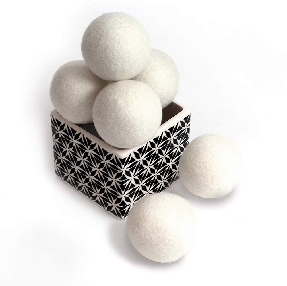 9 Ingenious Gadgets to Keep your Laundry Supplies Organized and Handy Wool Dryer Balls #Organize #Organization #OrganizedLaundry #Laundry #LaundryRoom #LaundrySupplies #LaundryStorage #Storage #SaveTime #SaveMoney