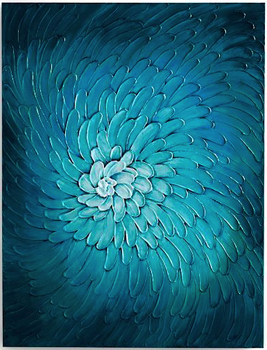 16 Big Bold Art Pieces to Get Your Wall Noticed #bigart #largeart #coastalart #wallart #BlueFlora