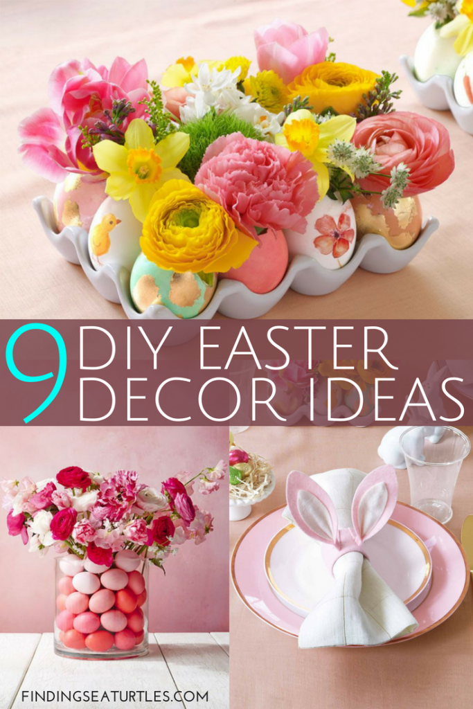 Easter Decor Diy 9 Easter Decor Ideas For A Coastal Home Finding