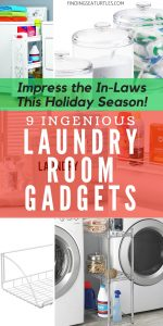 Holiday Company? 9 Ingenious Gadgets to Keep Laundry Organized and In-Laws Impressed! #organize #LaundrySupplies #LaundryGadgets