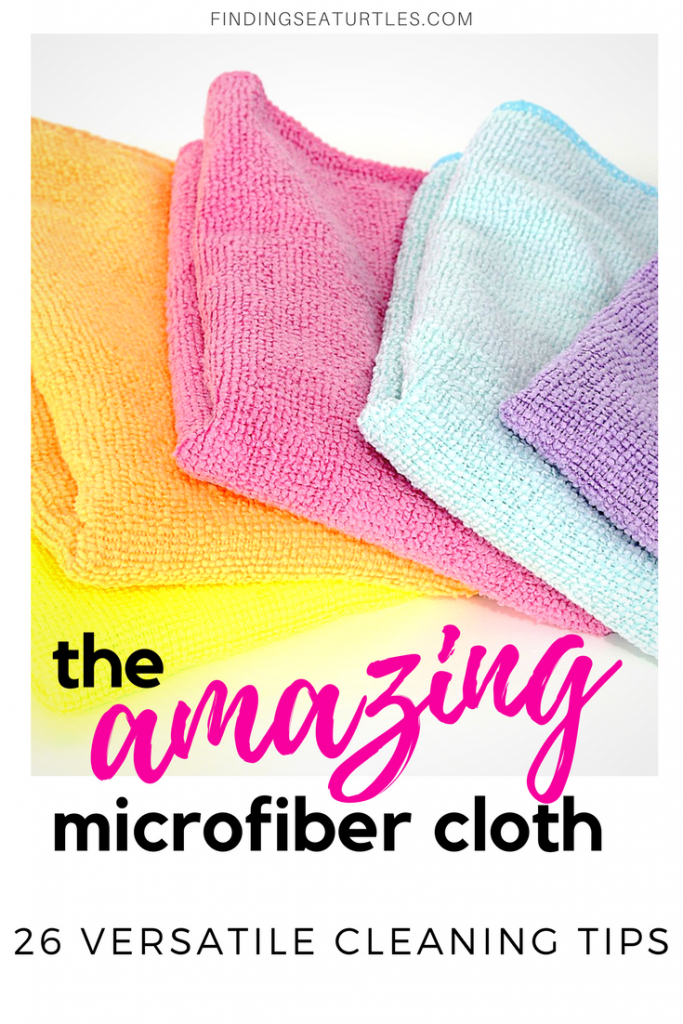 26 Astonishing Cleaning Uses for Microfiber Cloths #microfiber #cleaning #usesforMicrofiber #microfibercloths