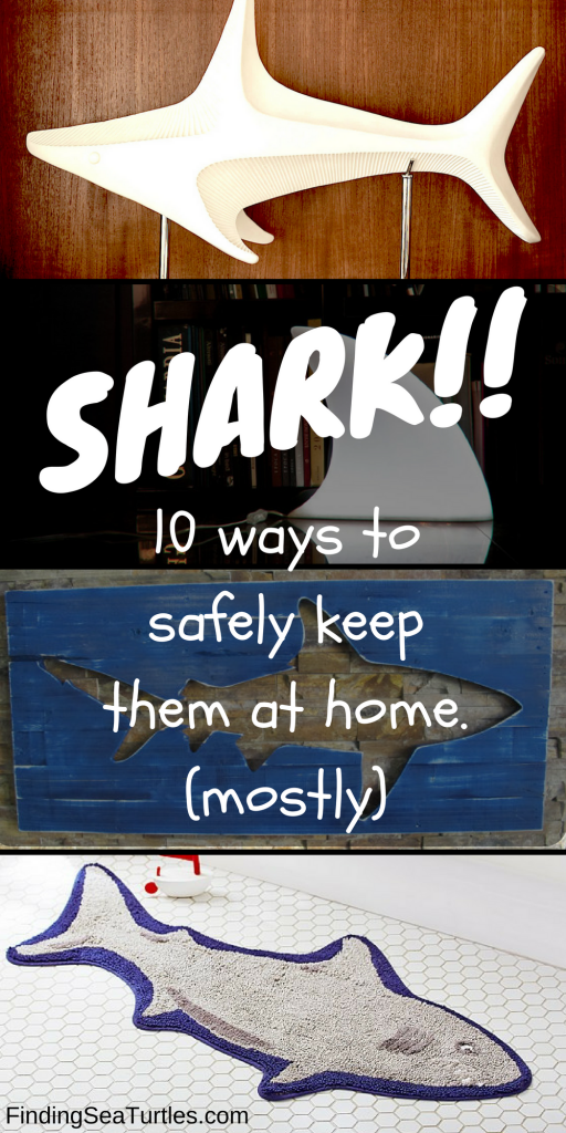 10 Cool Ways to Let Some Shark! Into Your Home #sharkweek #beachhouse #coastaldecor