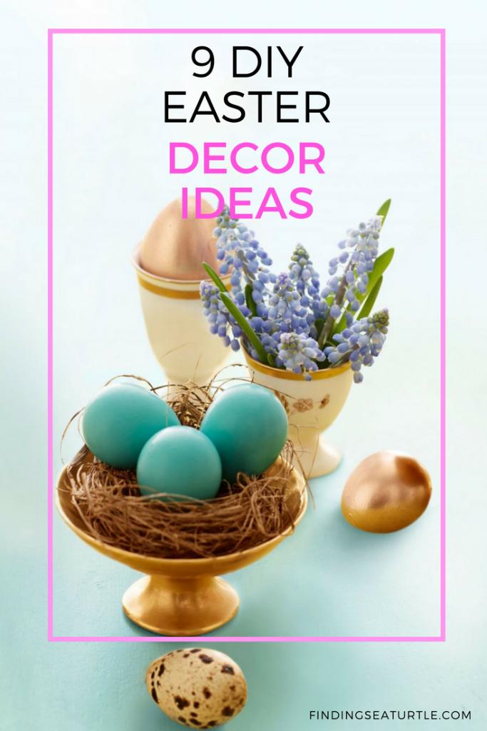 9 Easter Decor Ideas for a Coastal Home #EasterDIY #EasterDecor #EasterCoastalDecor #CoastalHome #DIY