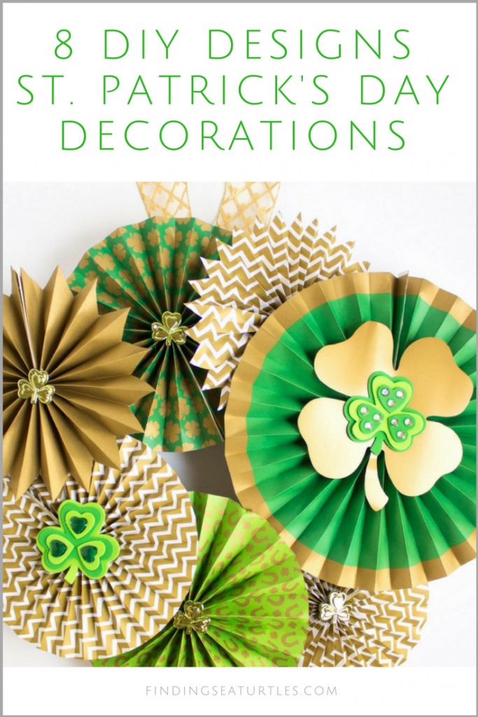 Coastal Decor DIY:  8 St. Patrick's Day Decor Ideas #diy #craft #coastaldecor #stpatricksday