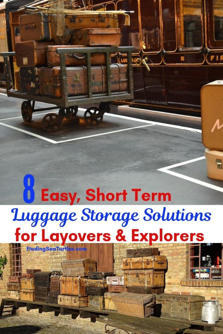 8 Easy Short Term Luggage Storage Solutions For Layovers Explorers #LuggageStorage #ShortTermLuggageStorage #Travel #TravelLuggageStorage #StoreYourLuggage #LuggageTravelStorage #AirportLuggageStorage #TrainStationLuggageStorage