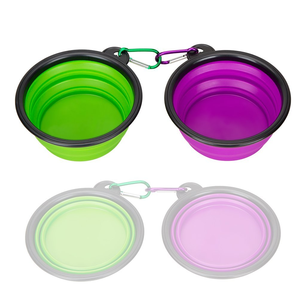 First Time Dog Owner Road Trip Tips - Collapsible Silicone Pet Bowls #FirstTimeDogOwner #DogFirstTrip #DogsTravel #DogFoodBowls #DogRoadTrip