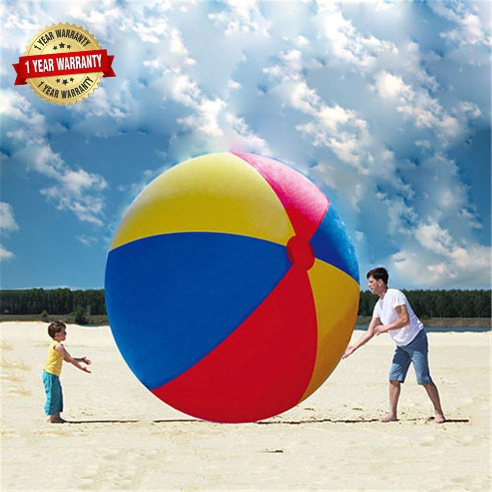 Summer Family Fun 80 Inch Over Sized Giant Inflatable Beach Ball #FamilyFun #SummerFun #SummerGames #Summer #BeachBall