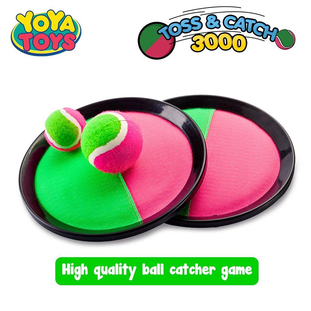 Summer Family Fun YoYa Toys Toss & Catch Paddles Game Set