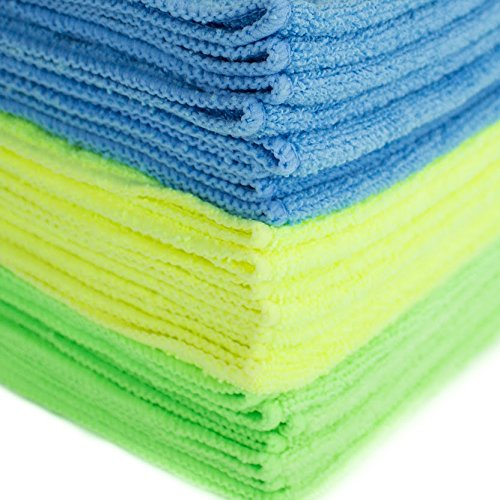 Green Cleaning Tips - Zwipes Microfiber Cleaning Cloths #ZwipesMicrofiber #GreenCleaning #Organic #GreenProducts #HouseCleaning