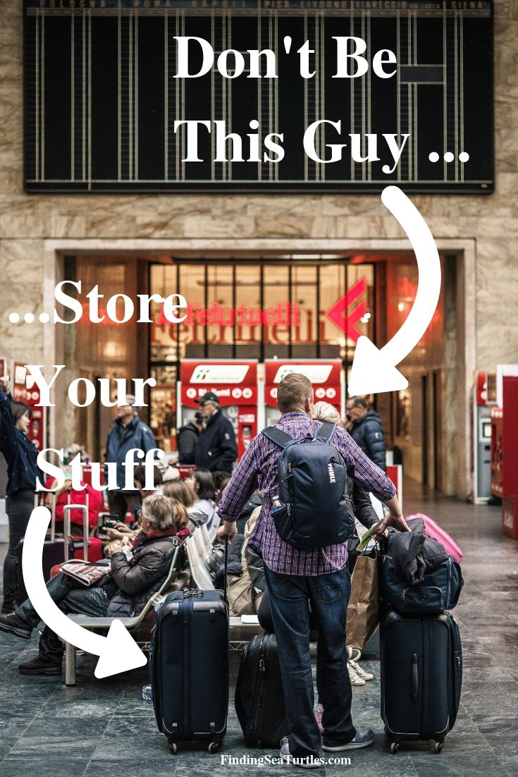 Don't Be This Guy Store Your Stuff #LuggageStorage #ShortTermLuggageStorage #Travel #TravelLuggageStorage #StoreYourLuggage #LuggageTravelStorage #AirportLuggageStorage #TrainStationLuggageStorage