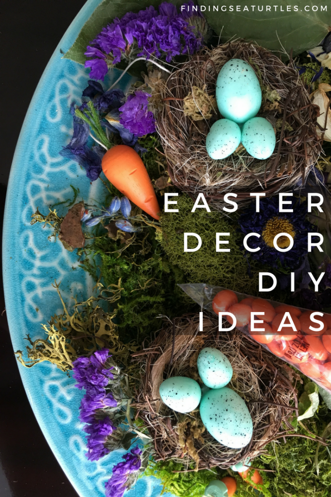 Easter Decor DIY: Ideas to Celebrate Easter #easter #easterdecor #DIY #easterDIY #eastereggs