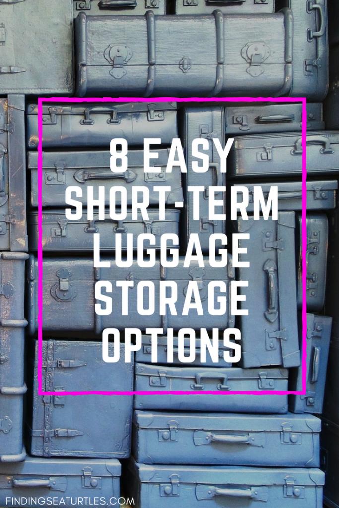 Fantastic Short Term Luggage Storage Options #Travel #LuggageStorage #TravelConnections #TravelLuggage #Layovers