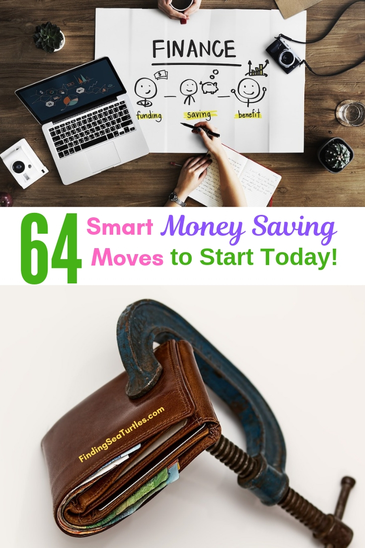 64 Smart Money Saving Moves To Start Today #Frugal #SaveMoney #FrugalLiving #Budget #MoneySaving #Saver #MoneySavingTips #Thrifty #FamilyBudget