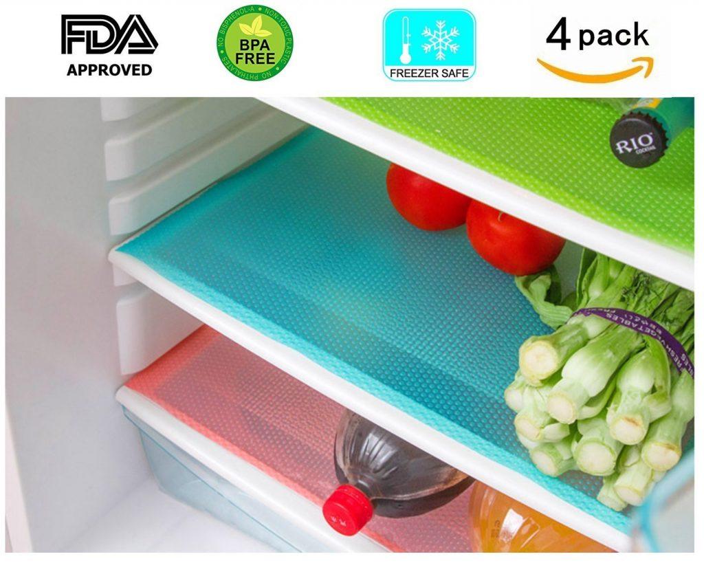 10 Mind Blowing Refrigerator Organization Hacks Refrigerator Mats, Eva Refrigerator Liners Washable #Organize #Organization #OrganizedRefrigerator #Fridge #Refrigerator #RefrigeratorStorage #Storage #SaveTime #SaveMoney