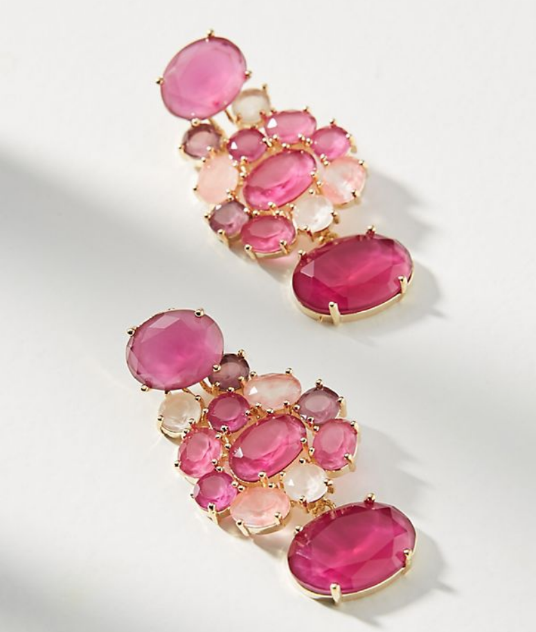 25 Pretty in Pink Gifts for Mom Leora Post Earrings #MothersDay #GiftsForMom #PinkGiftsForMom #MothersDayGifts #PrettyPinkGifts