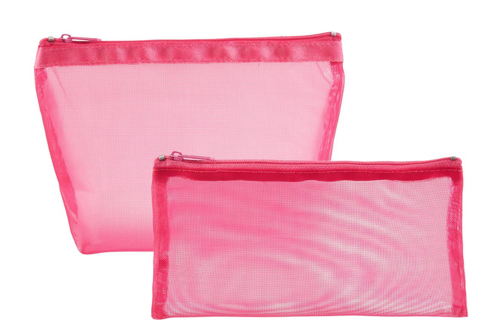 25 Pretty in Pink Gifts for Mom Pink Micro Mesh Pouches #ContainerStore #MothersDay #GiftsForMom #PinkGiftsForMom #MothersDayGifts #PrettyPinkGifts #MothersDayGifts