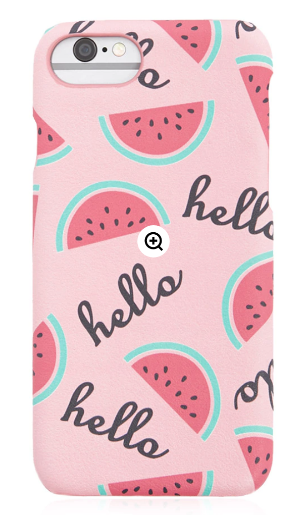 25 Pretty in Pink Gifts for Mom Watermelon Case For Iphone #MothersDay #GiftsForMom #PinkGiftsForMom #MothersDayGifts #PrettyPinkGifts