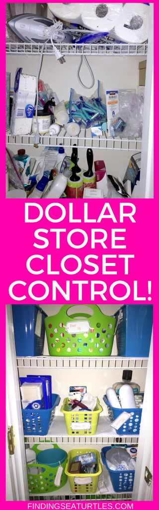 5 Dollar Store Hacks to Organize Your Closet #DIY #DollarStoreHacks #OrganizationalHacks #DIYCloset