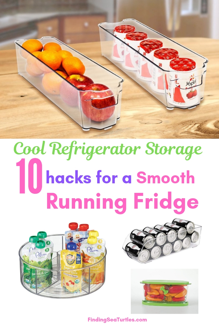Cool Refrigerator Storage 10 Hacks For A Smooth Running Fridge #Organize #Organization #OrganizedRefrigerator #Fridge #Refrigerator #RefrigeratorStorage #Storage #SaveTime #SaveMoney