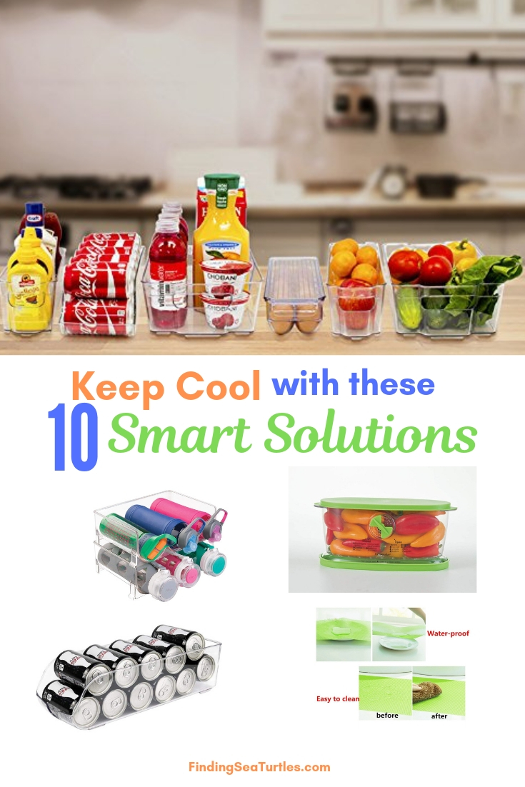 Keep Cool With These 10 Smart Solutions #Organize #Organization #OrganizedRefrigerator #Fridge #Refrigerator #RefrigeratorStorage #Storage #SaveTime #SaveMoney