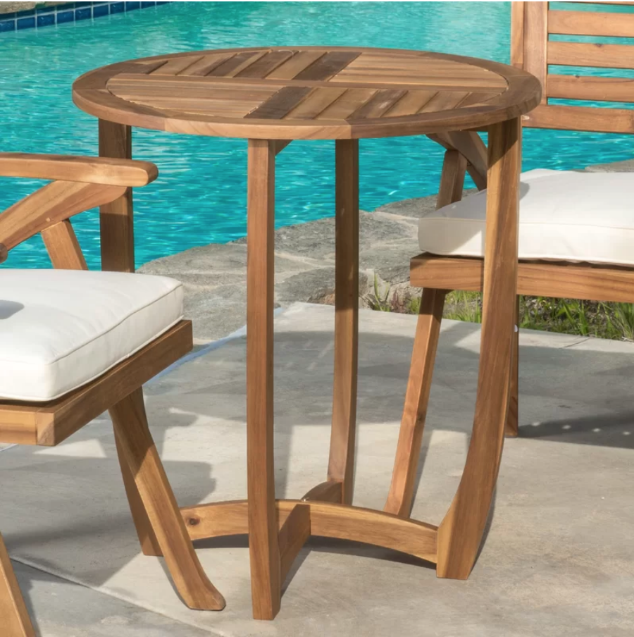 8 Bold Bistro Tables Marvin Bistro Table #BistroTables #smallSpace #SmallSpaceLiving #OutdoorLiving #MarvinBistroTable #Patio #Porch #Pool