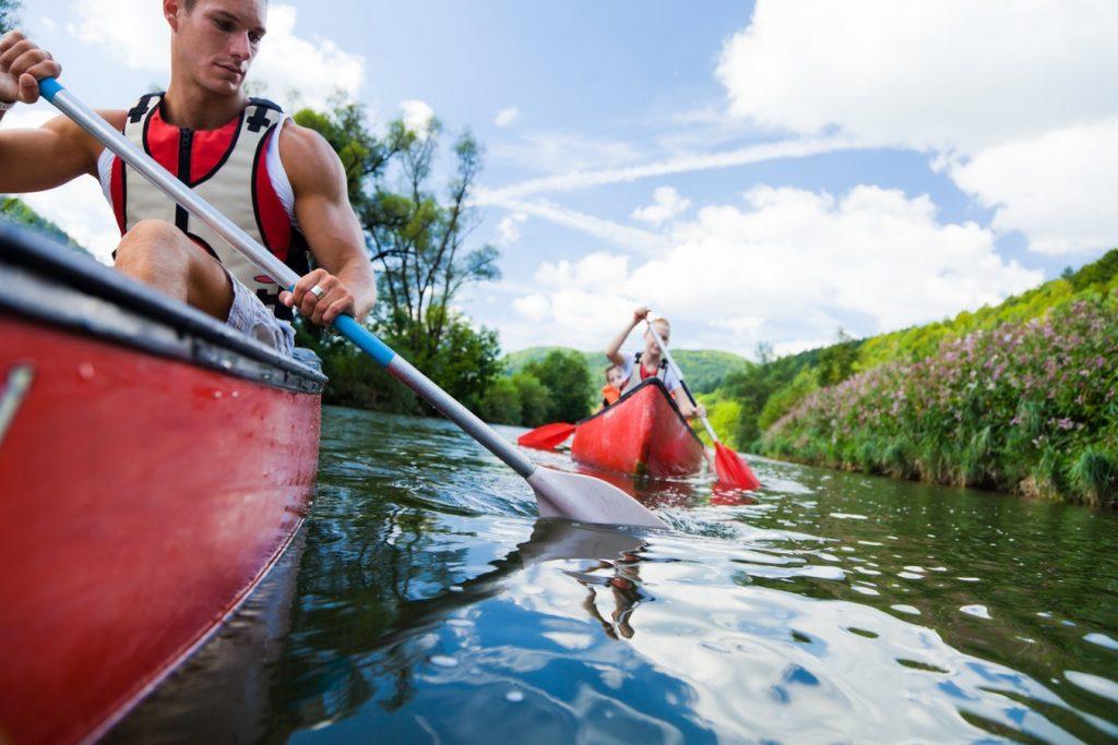 12 Budget Friendly Outdoor Summer Activities Canoeing (photo By Razvan Chisu) #LLBean #BudgetFriendly #SummerFun #OutdoorSummerActivities #Canoeing