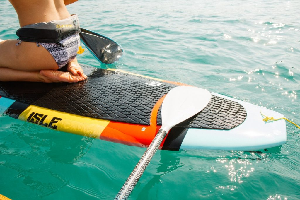 12 Budget Friendly Outdoor Summer Activities Paddle Board (photo Holly Mandarich) #LLBean #PaddleBoarding #OutdoorSummerFun #BudgetFriendly #SummerAdventures #WaterSports