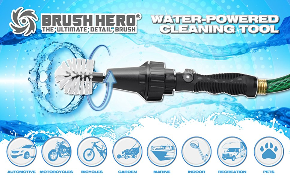 15 Fabulous Father's Day Gifts Brush Hero Water Powered Equipment #CelebrateFathersDay #FathersDay #FathersDayGifts #BrushHero #GiftsForDad
