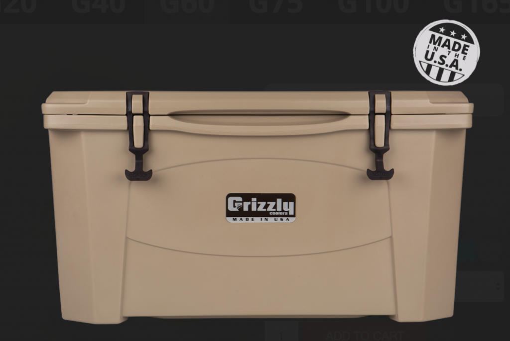 15 Fabulous Father's Day Gifts Grizzly 60 Cooler #CelebrateFathersDay #FathersDay #FathersDayGifts #GiftsForMen #GrizzlyCoolers #Tailgating #Camping #Fishing