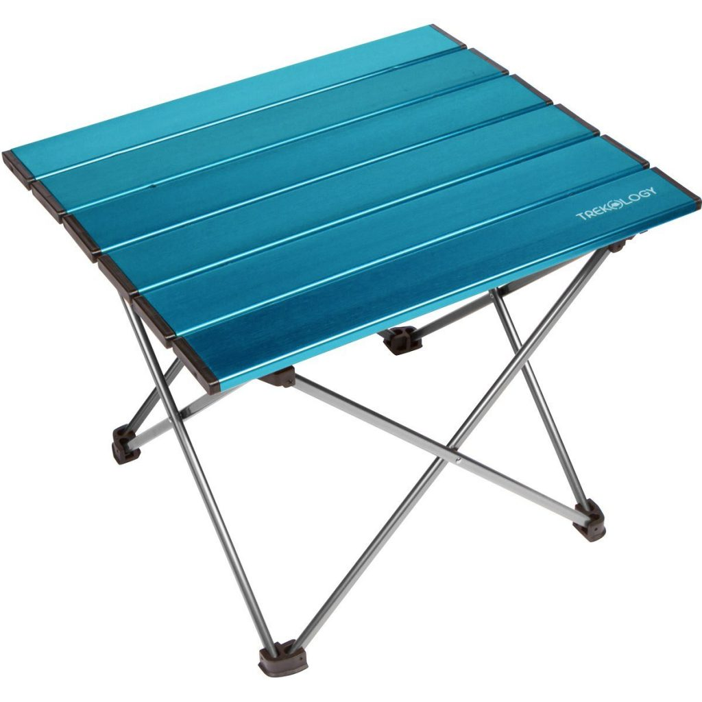 15 Fabulous Father's Day Gifts Trekology Portable Camping Side Table #CelebrateFathersDay #FathersDay #FathersDayGifts #GiftsForDad #GiftsForGuys #Camping #TrekologyCampingTable #BeachTable