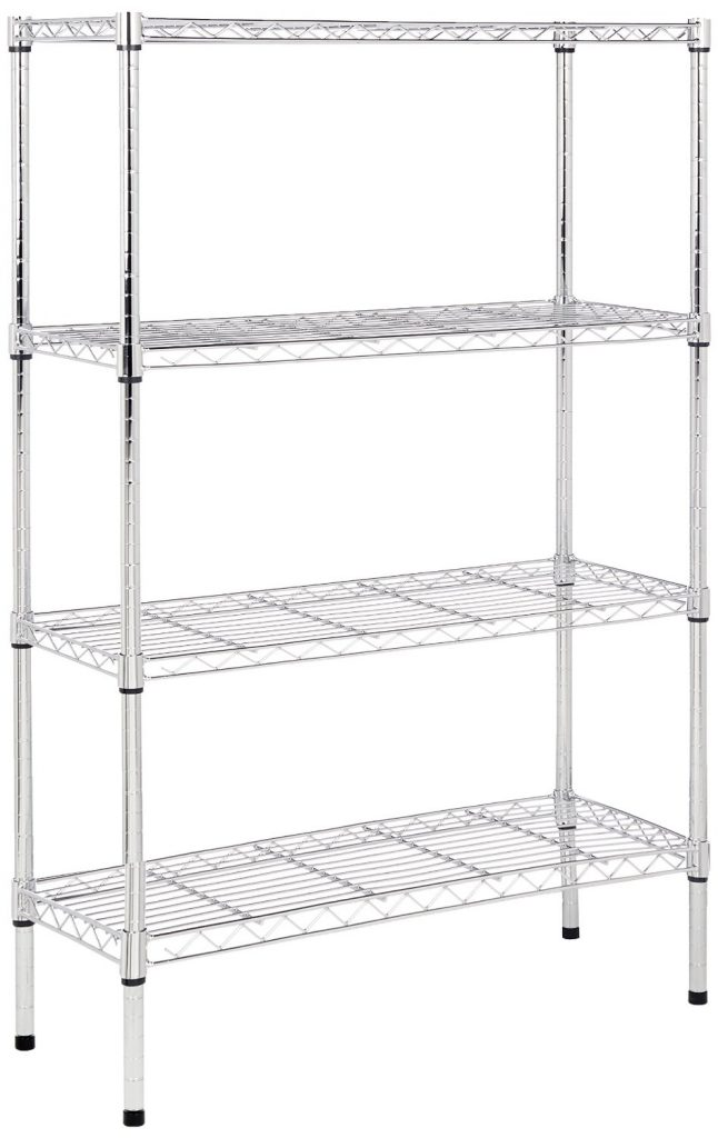 15 Clever Garage Hacks Amazonbasics 4 Shelf Chrome Unit #AmazonBasics #Garage #GarageCleaning #GarageHacks #GarageOrganization #Organization #GarageStorage #Storage #Cleaning #Organization #Storage