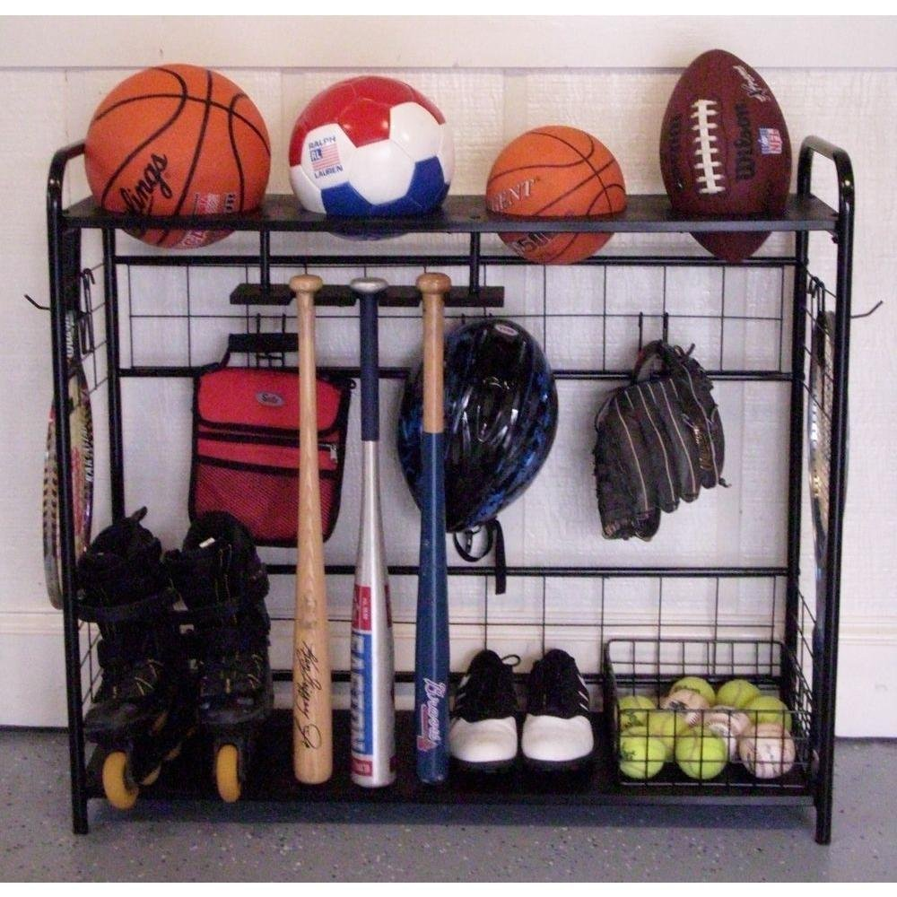 15 Clever Garage Hacks Sports Organizer Hang Store Outdoor #Garage #Garage Cleaning #GarageHacks #GarageOrganization #GarageStorage #Storage #Cleaning #Organization #SportsBallBag