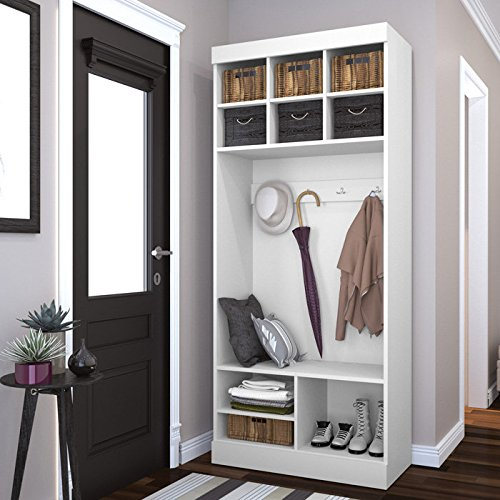 8 Mudroom Managing Tips That Really Work Bestar Storage Cubby White Bench #BestarStorage #Mudroom #Clean #Storage #Organization #MudroomClean #MudroomStorage #MudroomOrganization #CleanMudroom #StorageForMudroom #OrganizedMudroom #Declutter