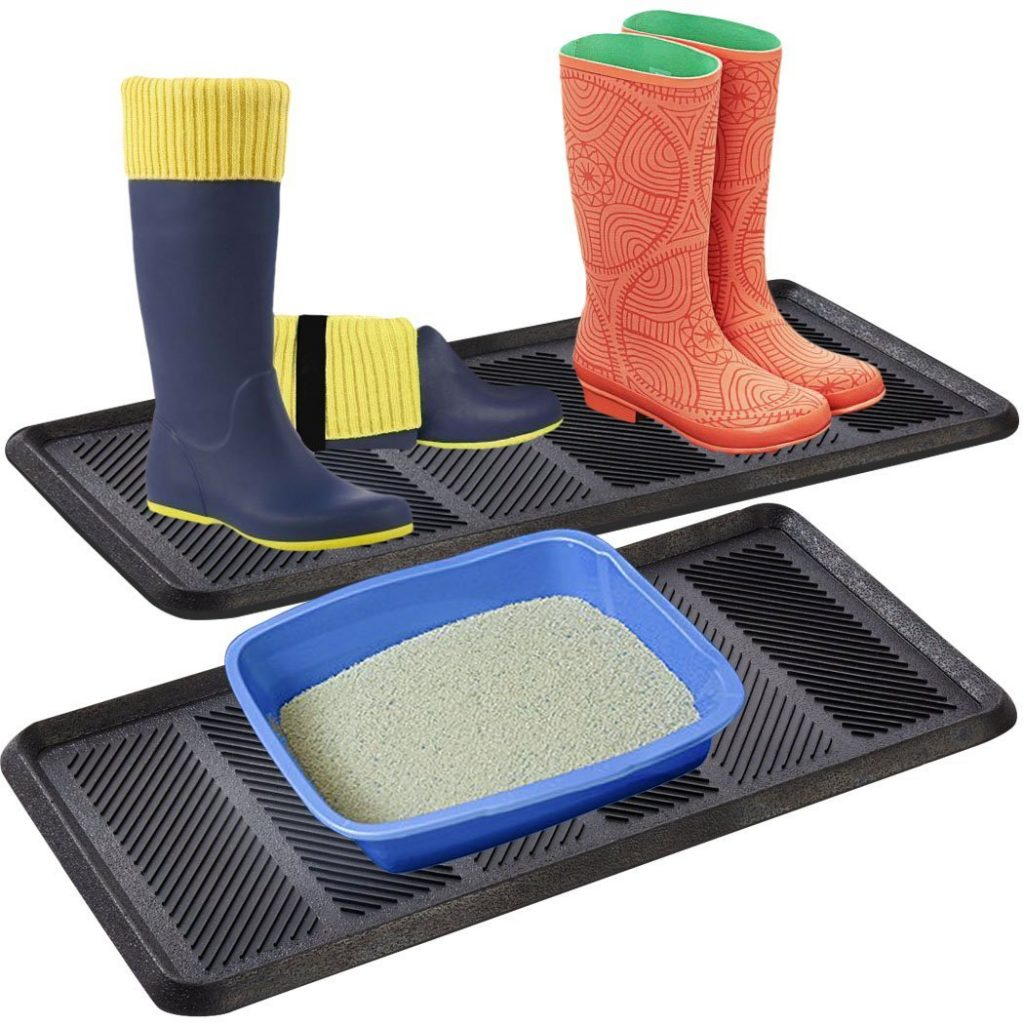 8 Mudroom Managing Tips That Really Work Safetycare Heavy Duty Flexible Rubber Boot Tray #BootTray #Mudroom #Organization #CleanMudroom #OrganizedMudroom #MudroomCleaning #MudroomOrganization #SafetyCare #TidyMudroom
