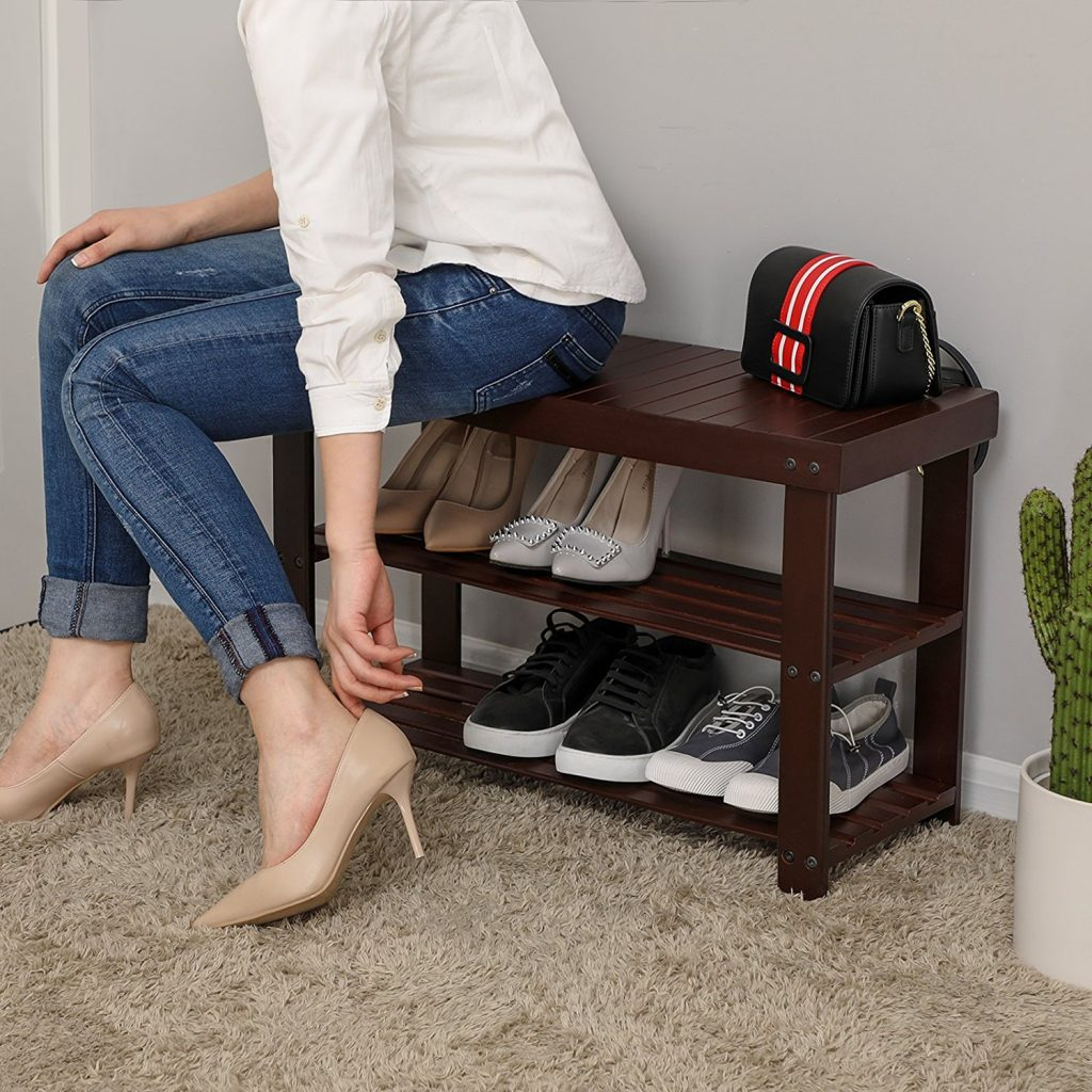 8 Mudroom Managing Tips That Really Work Songmics 3 Tier Bamboo Shoe Rack Bench #ShoeRack #Bench #Storage #Organization #Clean #Mudroom #MudroomCleaning #MudroomOrganization #MudroomStorage #CleanMudroom #OrganizationMudroom #StorageMudroom #Bamboo
