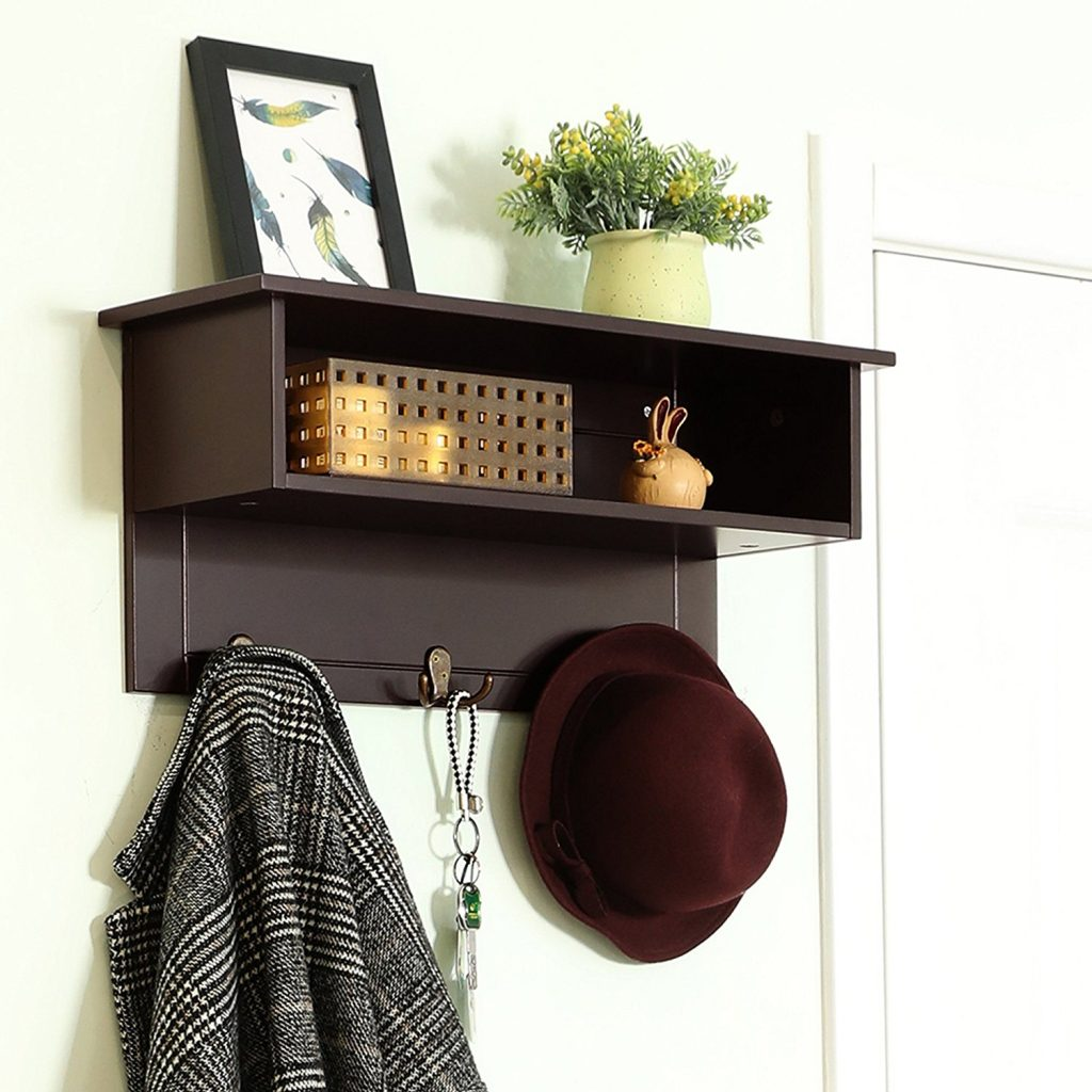 8 Mudroom Managing Tips That Really Work Songmics Entryway Hanging Shelf #SongmicsHangingShelf #MudroomCleaning #MudroomOrganization #Mudroom #CleanMudroom #OrganizedMudroom #Organization
