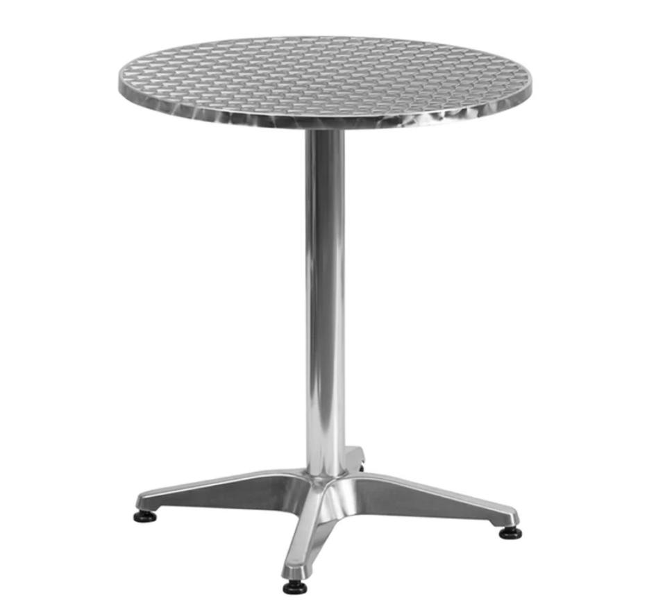 8 Bold Bistro Tables Clarendon Aluminum Bistro Table #BistroTables #SmallSpace #SmallSpaceLiving #OutdoorLiving #ClarendonAluminumBistroTable #Patio #Porch