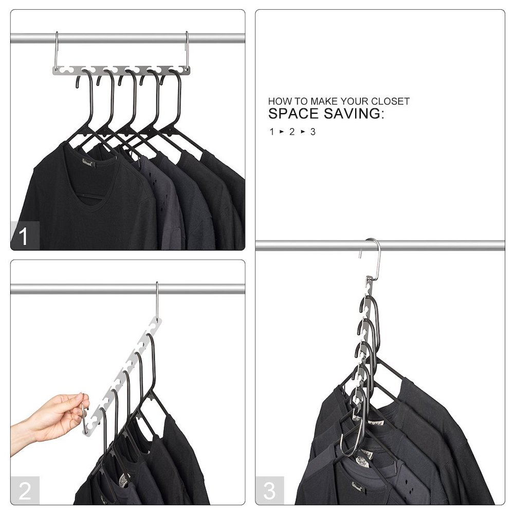 10 Massive Space Saving Closet Tips Space Saving Wardrobe Organizer #Organize #Organization #OrganizedCloset #OrganizeClothes #Closet #ClosetStorage #Storage #SaveTime #SaveMoney