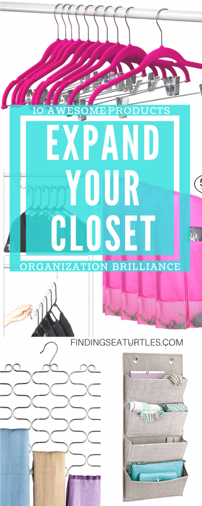 10 Space Saving Closet Tips #Organization #ClosetOrganization #CleanCloset #SpaceSaving #TimeSaving #DustProof
